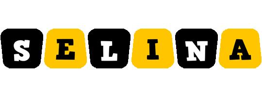 Selina boots logo