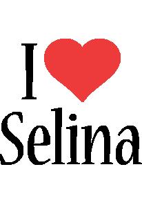 Selina i-love logo