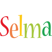 Selma birthday logo