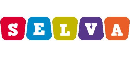 Selva kiddo logo