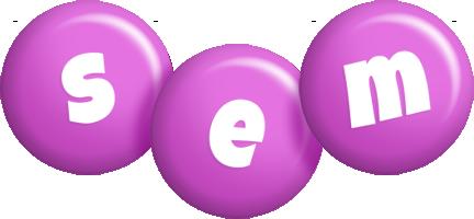 Sem candy-purple logo