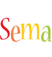Sema birthday logo