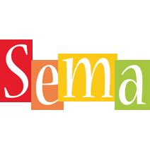 Sema colors logo