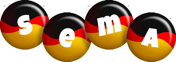 Sema german logo