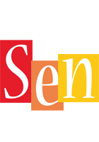 Sen colors logo