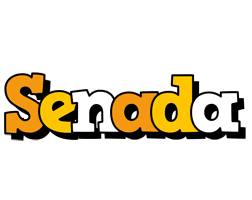 Senada cartoon logo
