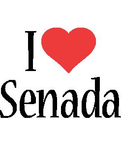 Senada i-love logo