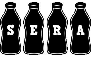 Sera bottle logo
