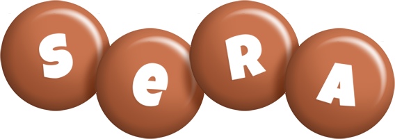 Sera candy-brown logo