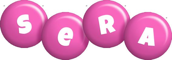 Sera candy-pink logo