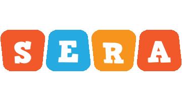 Sera comics logo