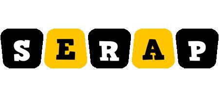 Serap boots logo