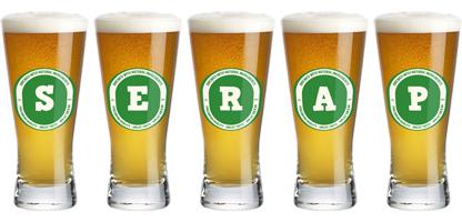 Serap lager logo