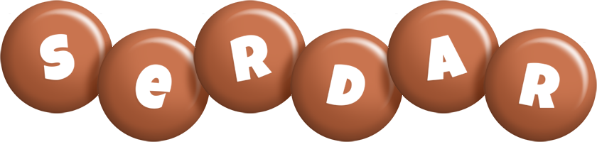 Serdar candy-brown logo