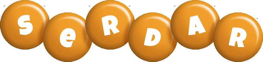 Serdar candy-orange logo