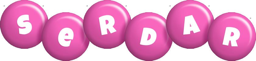 Serdar candy-pink logo