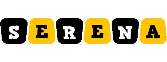 Serena boots logo