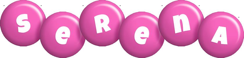 Serena candy-pink logo