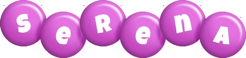 Serena candy-purple logo