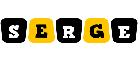 Serge boots logo