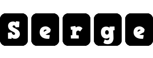 Serge box logo