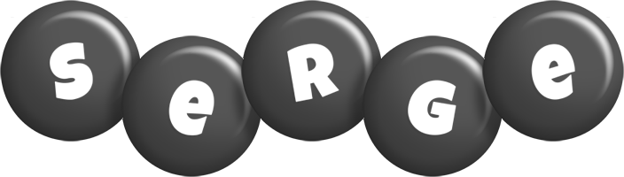 Serge candy-black logo