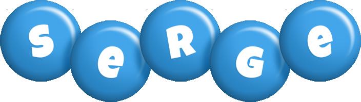 Serge candy-blue logo