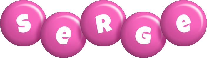 Serge candy-pink logo