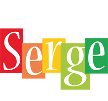 Serge colors logo