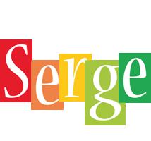 Serge colors logo