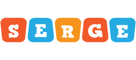 Serge comics logo