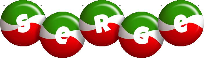 Serge italy logo