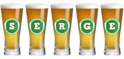 Serge lager logo