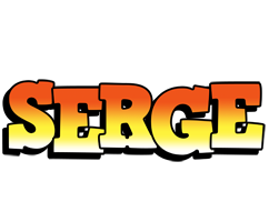 Serge sunset logo