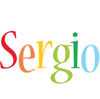 Sergio birthday logo