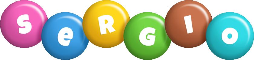 Sergio candy logo