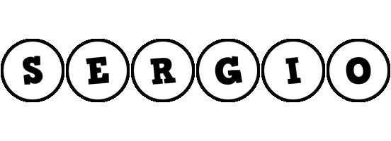 Sergio handy logo