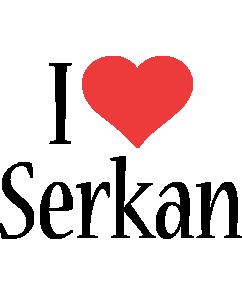 Serkan i-love logo