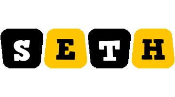 Seth boots logo