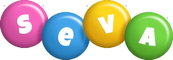 Seva candy logo