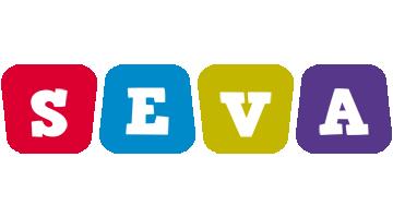 Seva daycare logo