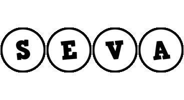 Seva handy logo