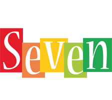 Seven colors logo