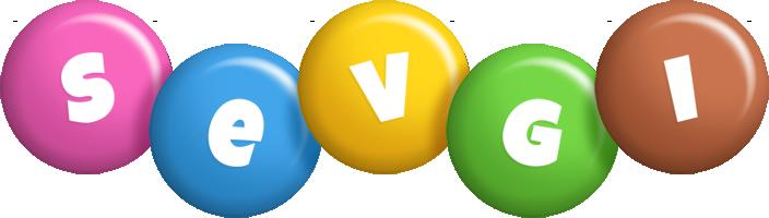 Sevgi candy logo