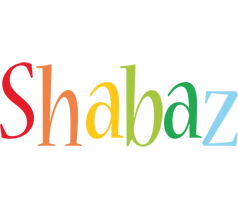 Shabaz birthday logo