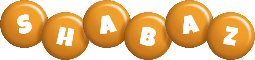 Shabaz candy-orange logo