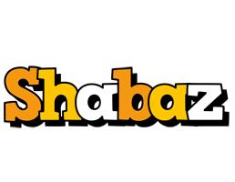 Shabaz cartoon logo