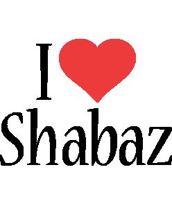 Shabaz i-love logo