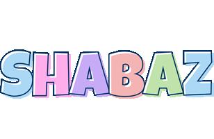 Shabaz pastel logo