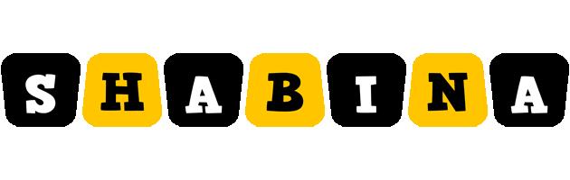 Shabina boots logo